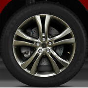20x7.5 Factory Wheel Hyper Bright Smoked Silver Bright For 09-14 Nissan Murano