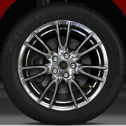 18x7.5 Factory Wheel Hyper Bright Smoked Silver Ff For 2011-2012 Infiniti G25