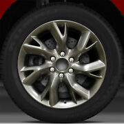 20x8 Factory Wheel Hyper Bright Smoked Silver For 2014 Infiniti Qx80
