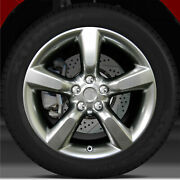 18x8.5 Factory Rear Wheel Hyper Bright Smoked Silver For 2005-2008 Nissan 350z