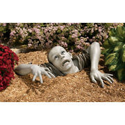 Large Walking Dead Escaping The Tomb Flesh Hungry Macabre Corpse Zombie Statue