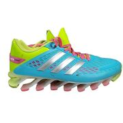 Adidas Springblade Razor Blue Lime Green Pink Running Athletic Shoes Sz 6