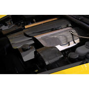 Perforated Stainless Steel Replacement Fuel Rail Covers For 05-07 Chevy Corvette