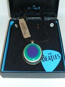 Lucky Brand Beatles Retro Psychedelic Pendant Necklace Rare Nwt Damaged Box