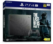Brand New The Last Of Us Part Ii Ps4 Limited Edition Bundle