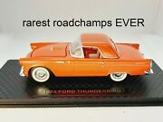 1/43 O Scale Road Champs 1955 Ford Thunderbird Hard Top Pre-pro Employee Sample