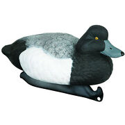 Duck Decoy 14 Inch Blue Bill 4 Drakes 2 Hens With Weighted Keel Pack Of 6