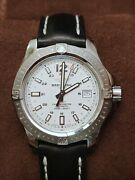 Breitling Colt 41 Automatic White Dial Menand039s Watch A1731311/g820 Cosc