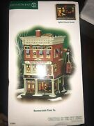 Department 56 Hammersteinand039s Piano Co. Christmas In The City 799941 New Open Box