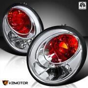 For 1998-2005 Volkswagen Beetle Clear Tail Lights Brake Lamps Left+right Pair