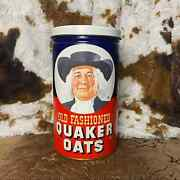Quaker Oats Vintage Limited Edition 1982 Tin Can