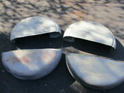 1940 Packard 160 Super 8 Grooved Side Mount Covers With Tubs