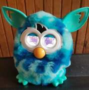 Furby Boom Blue Waves 2012 Furby Hasbro Electronic Interactive Toy Working