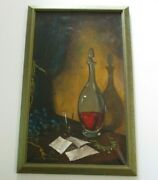 Andre Richardson King Painting Still Life African American Artist Chicago Modern