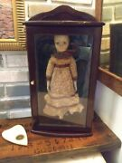 Haunted Doll Paranormal Active Antique Inside Case Very Active