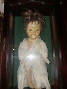 Haunted Dolls Paranormal Active Antique With Case Positive Spirit