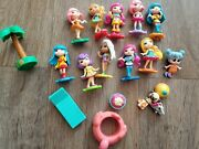 Lot Party Popteenies Spin Master 10+ Dolls Accessories Furniture Animals Pop 2