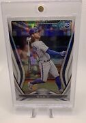 2020 Panini Chronicles Certified Bo Bichette Rookie Card 1/1 Silver Sparkle