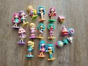 Lot Party Popteenies Spin Master 12 Dolls Accessories Animals Pop 2 Figures