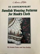 33 Contemporary Swedish Weaving Patterns For Monks Cloth Avery Hills Htf