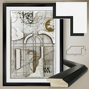 32wx44h Spazio Vi By Walter Valentini - Parchment Double Matte Glass And Frame