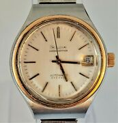 Vintage Bulova Oceanographer Automatic 333 Ft Men's Watch- Sold As Is