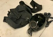 Msa Millennium Cbrn Riot Control Mask Respirator W/ Bag And Tinted Lens Cover Med