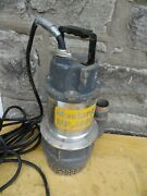 Mustang Mp4800 Submersible Sump Pump 80 Gpm 2 Outlet Heavy Duty Cast Iron Pool