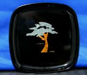 1966 Couric Of Monterey Cypress Tree By Sfb Morse Inlaid Wood And Stone