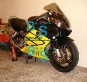 Yellow Injection Fairing + Tank Cover Fit Honda Cbr600f4i 2002 2001-2003 41 A6