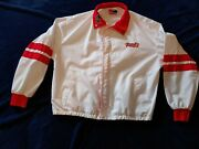 Vintage Uniroyal Tiger Paw Jacket Coat Size Large Racing Muscle Car Swingster