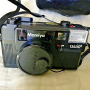 Mamiya 135 Af 35mm Film Camera With 38mm 2.8 Lens And Case. Tested Working
