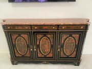 French Boulle 3- Door Sideboard.