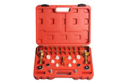 26pc Car Air Conditioning Repair Tool Auto Truck Leak Detector Tester Joint Tool
