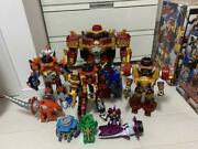 Power Rangers Ninja Steel Ninninger Dx Robot Set Megazord Bandai Japan Toy Box