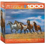 Eurographics 8000-0709 Chris Cummings - Over The Top - 1000 Piece Jigsaw Puzzle