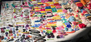 450 Girls Hair Accessories Bows Boutique Disney Goody Comb Clips Baby Kids Dog