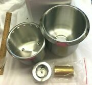 Regency Dipper Well Bowl Stainless Steel Ice Cream W/o Faucet 600g82a Nib