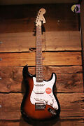 Squier Affinity Stratocaster, Brown Sunburst - Free Shipping Lower Us