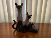 Lane And Co. 1950's Siamese Cat Tv Lamp