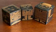Lot Of 3 1960and039s Purbeck Pottery Vintage Ceramic Coin Banks England