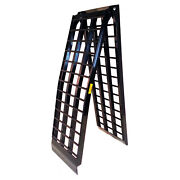 Titan 9and039 Hd Wide 4-beam Truck Loading Ramp Motorcycle Harley 1500 Lb Capacity
