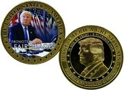 The Maga Movement Promoted Fair Trade Coin Proof Value 99.95