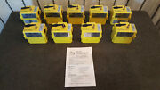 Set Of 9 Pumps Air One Ti-004 Personal Air Sampling Pump Without Powersupply