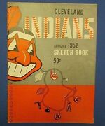 1952 Cleveland Indians Yearbook