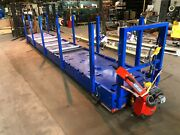 Rtt Airfloat 25and039 X 4and039 Nomaco Air Skid Pallet Jack W/ 48k Lb. Cap. Air Casters