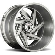 4-american Truxx At1906 Spiral 24x14 5x5 -76mm Brushed Wheels Rims 24 Inch