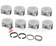 Silvolite Piston And Ring Set 0.25+ Press Fit For Holden Chevy V8 Ls1 5.7l Gen3