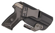 Iwb Concealed Carry Ccw Kydex Holster With Modwing Claw - Right Hand - Black