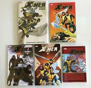 X-men First Class [lot Of 5 Books] [1 Hardcover + 4 Tpb/softcovers] Marvel